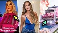 Böylesini Hiç Görmedik! Kylie Jenner'ın Ablası Khloe Kardashian İçin Düzenlediği Bi' Acayip Doğum Günü Partisi