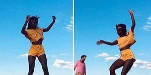 Paten ile Yaptığı Dansı İzlerken Hipnoz Etkisi Yaratan Amatör Dansçı