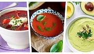 Sıcak Yaz Günlerinde İçinizi Serinletecek 12 Soğuk Çorba Tarifi