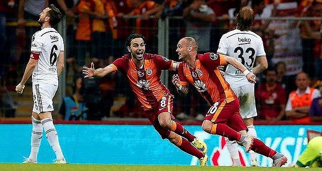 6. 2014 - 2015 Sezonu / Galatasaray 2-0 Beşiktaş