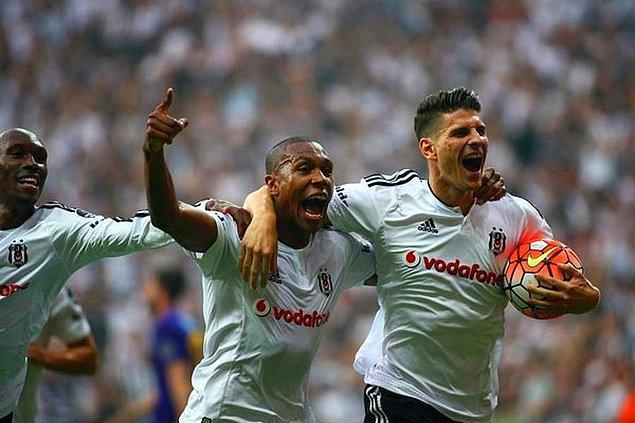 7. 2015 - 2016 Sezonu / Beşiktaş 3-1 Osmanlıspor