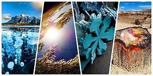 Dünyanın Muhteşem Güzelliklerle Ustaca Boyanmış Bir Tablodan Farksız Olduğunu Gösteren 19 Kare