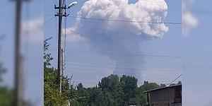 Sakarya'da Havai Fişek Fabrikasında Patlama | Vali, 'İçeride Yaklaşık 150-200 İnsan Var' Dedi