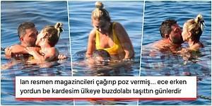 Boşandıktan Sonra Affetmiş... Olaylı İlişkilerine Kaldıkları Yerden Devam Eden Ece Erken ve Şafak Mahmutyazıcıoğlu Bodrum'da Görüntülendi!