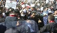 Polisten Baro Başkanları ve Avukatlara Biber Gazlı Müdahale