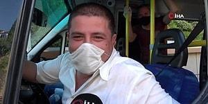 Para Cezası Yediği İçin Aşırı Mutlu Olan Minibüs Şoförü