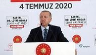 Erdoğan: 'İstanbul'da Asker Uğurlama ve Taziye Gibi Toplu Etkinliklere İzin Vermeyeceğiz'