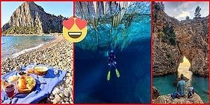 Mersin'den Başlayıp Fethiye'ye Kadar Uzanan Doğa İçinde Tatil Yapabileceğiniz Akdeniz Kamp ve Gezi Rotası
