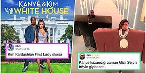 Ünlü Rapçi Kanye West, ABD Başkanlığı İçin Adaylığını Açıklayınca Goygoycuların Eline Fena Halde Düştü!