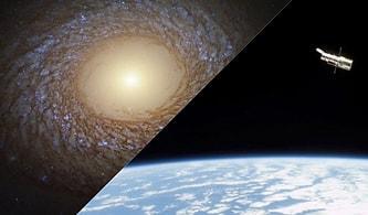 'Yünlü, Pofuduk ve Tüylü': Hubble Teleskobu Ortasında Boşluk Olan Bir Galaksinin Fotoğrafını Çekti
