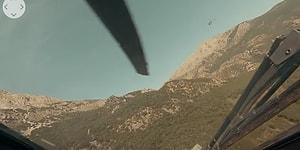 Atak Helikopterinin Kokpitinden 360 Derece Olarak Gerçek Operasyon Görüntüleri