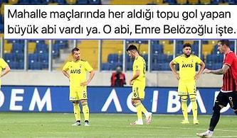 Emre Belözoğlu'nun Tarihe Geçtiği Gençlerbirliği- Fenerbahçe Maçında Kazanan Çıkmadı