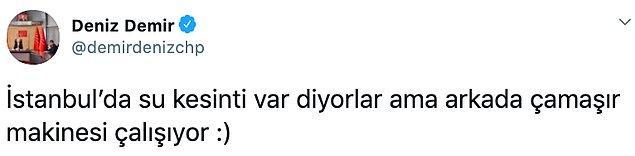 CHP Genel Başkan Başdanışmanı Deniz Demir, olayı gündeme getiren isim oldu.