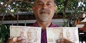 Hatalı Basım 50 TL İçin 75 Bin TL Teklif Edildi, Kabul Etmedi: 'Bu Parayı Satmayı Düşünmüyorum'