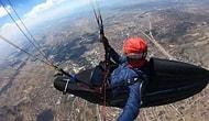 Çorum'dan Konya'ya 8 Saatte 296 Kilometre Yamaç Paraşütü Yapan Adam