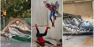Yaptıkları Grafitilerle Bu Kadarı da Olmaz Dedirten Yetenekli Artistin Muazzam Çalışmaları!