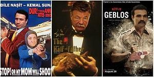 Yeşilçam Yıldızlarını Hollywood Klasiklerine Uyarlayarak Küçük Çaplı Bir Şok Yaşatan 17 Film Afişi