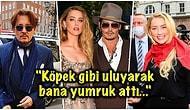 Üçlü İlişkiden, İhanete… Johnny Depp Bu Sefer de Amber Heard'ün Kendisine Kızarak Yataklarına Kakasını Yaptığını İddia Etti!
