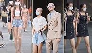 Moda Şölenine Dönüşen Çin Sokaklarından Hipnotize Edici Görüntüler