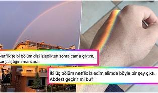 İşte Bunlar Hep Gökkuşağı Yüzünden! Eşcinselliğe Özendirdiği İçin Netflix'i Eleştirenlerle Bir Güzel Dalga Geçen Kişiler