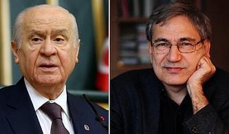 Bahçeli'den Orhan Pamuk'a Ayasofya Çıkışı: 'Yazar Müsveddesinin Mesnetsiz Sızlanması'