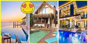 Uygun Fiyatlı Havuzlu Villalardan Romantik Balayı Villalarına: Güvenli Tatil İçin Aradığınızı Mutlaka Bulacağınız 11 Tatil Evi