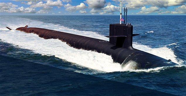 1. ABD'nin tüm nükleer cephanesinin yarısı 14 adet denizaltının içindedir.