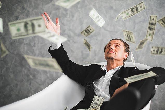 14. Dünyanın en zengin %10'u arasında girmek için ihtiyacınız olan tek şey 77 bin dolardır.