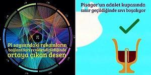 Geometri, Matematik ve Fizik Tutkunlarını Mest Etmesi Garanti 19 Zihin Açan Görsel