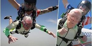 103 Yaşındaki Adam Paraşüt Dalışı Yaparak Dünya Rekoru Kırdı!