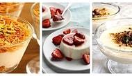 Buzdolabında Gördüğünüzde Sizi Mutlu Edecek 12 Pratik Sütlü Tatlı