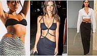 İç Çamaşırı Görüntüsü Veren Pantolonlardan Sonra Sıra Eteklerde: Tanga Görünümlü Etek Modası Geliyor