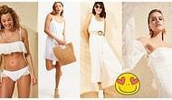 Sıcak Yaz Günlerini Bembeyaz Kar Taneleri Gibi Karşılayın: Bronz Teninize En Çok Yakışacak Beyaz Kıyafetler