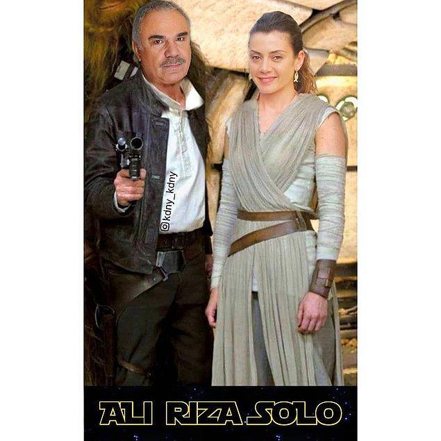 16. Aman ağzımızın tadı kaçmasın Ali Rıza Solo bey...