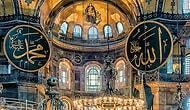 Ayasofya'da Cuma Namazı Hazırlıkları Tamam: Mozaik ve Freskler Perde Sistemi İle Kapanacak