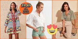 Yaz Sıcaklarında Vazgeçilmeziniz Olacak Tiril Tiril 21 Kadın Gömleği
