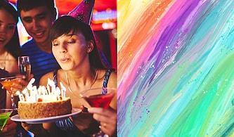 Sevgilin İçin Doğum Günü Partisi Hazırla, Karakterinin Rengini Söyleyelim!