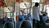 Otobüsteki Kadına Saldıran Erkeği El Birliğiyle Haşat Eden Kadınlar