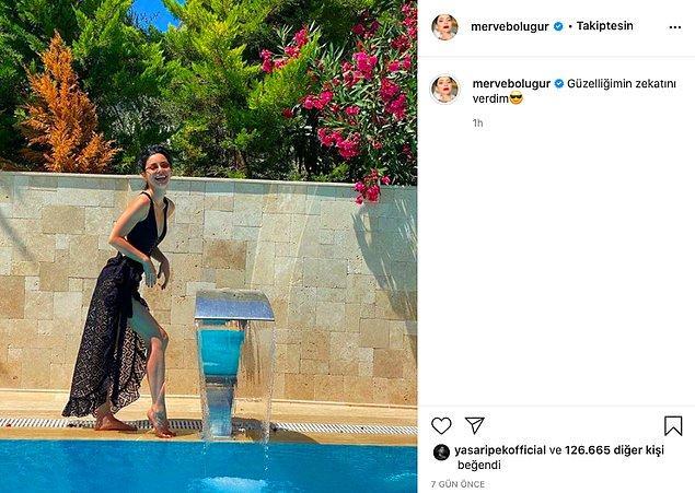 Takip edenler bilirler, Merve Boluğur son dönemde Instagram'da yaptığı paylaşımlarla adından sıkça söz ettiriyor!