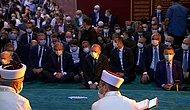 Ayasofya 86 Yıl Sonra Cuma Namazı ile Cami Olarak İbadete Açıldı