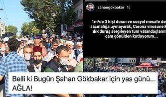 Şahan Gökbakar Ayasofya'ya Gidip Sosyal Mesafe Kurallarına Uymayan İnsanları İroni Yaptığı Paylaşımıyla Eleştirdi!