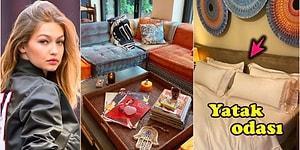 Yeni Gelinlerimizin Altın Varaklı Mobilya Arzusuna Karşı Gigi Hadid'in Kendi Zevki ile Yeniden Dizayn Ettiği Evi Görünce Gözleriniz Kamaşacak