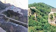 Menzil Tarikatı'ndan Ormanlık Alanda 'Kale' Gibi Öğrenci Yurdu
