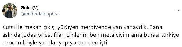 6. 'Burası Türkiye moruk!' deyip oflaya puflaya evin yolunu tutmuş.