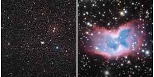 Işıltılı ve Rengarenk Uzay Kelebeğinin Gökbilimciler Tarafından Paylaşılan Görüntüsü Herkesi Büyüledi!