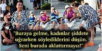 İstanbul Sözleşmesi İçin Oturma Eylemi Yapan Kadınların Arasına Katılmaya Çalışan Murat Övüç, Eylemden Kovuldu!