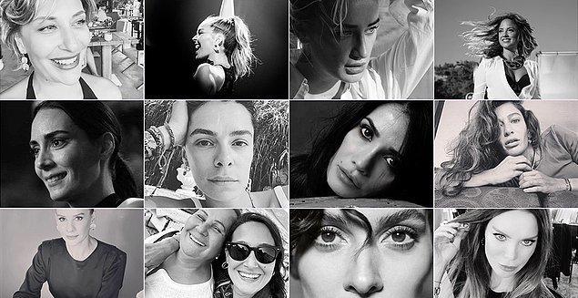 Mesela son olarak Türkiye'de başlayan akım, tüm dünyaya yayılmıştı, kadınlar siyah-beyaz fotoğraflarını paylaşıp birbirlerini desteklemişlerdi.