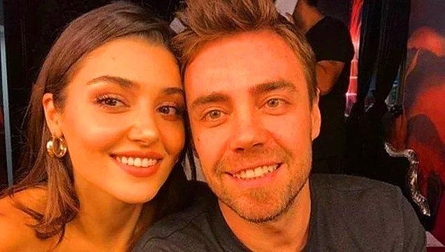Murat boşanmanın ardından gününü gün etti demiştik ya, evet tam olarak öyle oldu ve 2018'de Hande Erçel'le yeni bir aşka yelken açtı.