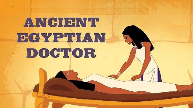Antibiyotik kullanımının temeli Mısır'a dayanmaktadır.