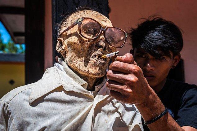 Ma Nene ritüeli, Endonezya'da yaşayan Toraya halkına özgü bir gelenektir.